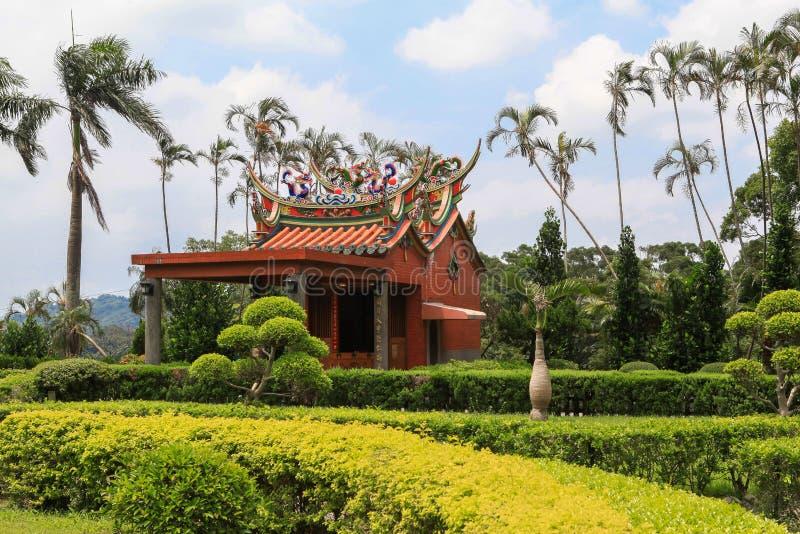 Tempiale in Taiwan fotografie stock