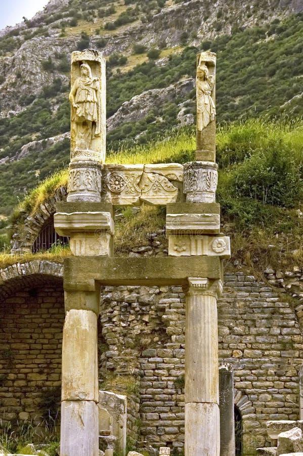 Tempie di Ephesus fotografia stock