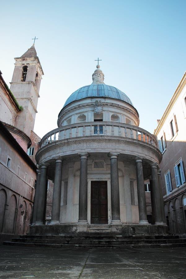 Tempietto di San Pietro i Montorio royaltyfri bild