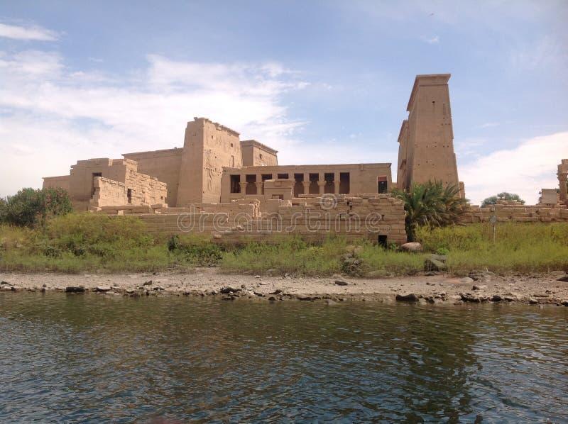 Tempio in acqua immagini stock