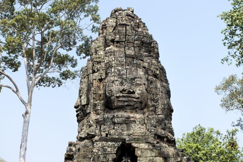Tempio, Angkor Wat, Siem Reap, Cambogia fotografia stock