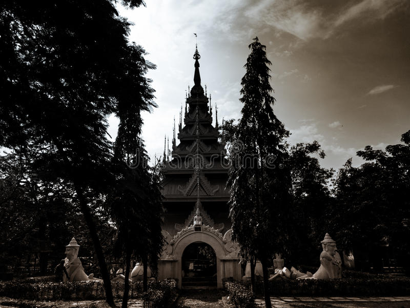 Tempio antico della pagoda fotografia stock libera da diritti