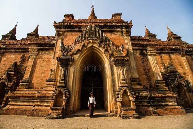 Tempio antico di Bagan immagini stock