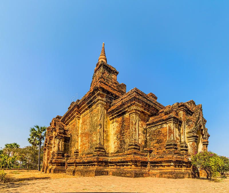 Tempio Bagan di Gubyaukgyi fotografie stock