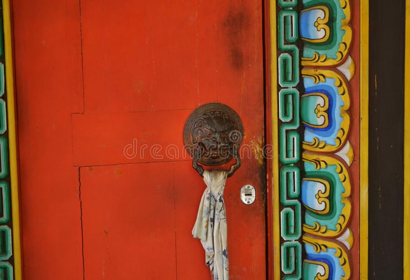 Tempio buddista Datsan in Buriazia fotografie stock