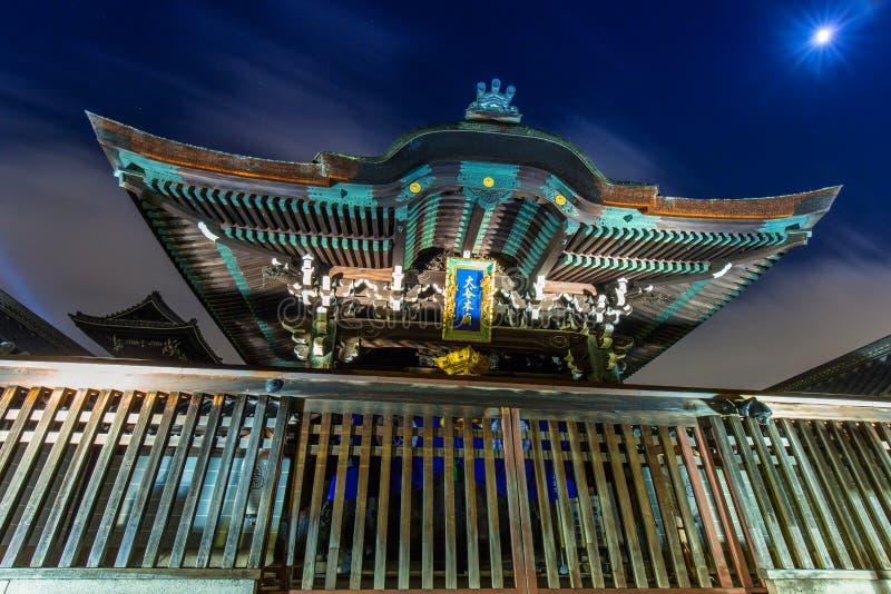 Tempio buddista di Otani Hombyo a Kyoto immagini stock