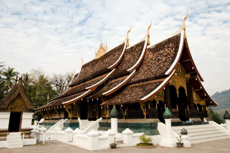 Tempio buddista - Luang Prabang - Laos immagini stock