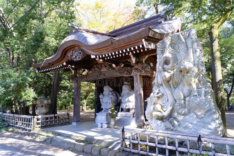 Tempio Chofu Giappone di Jindaiji fotografie stock