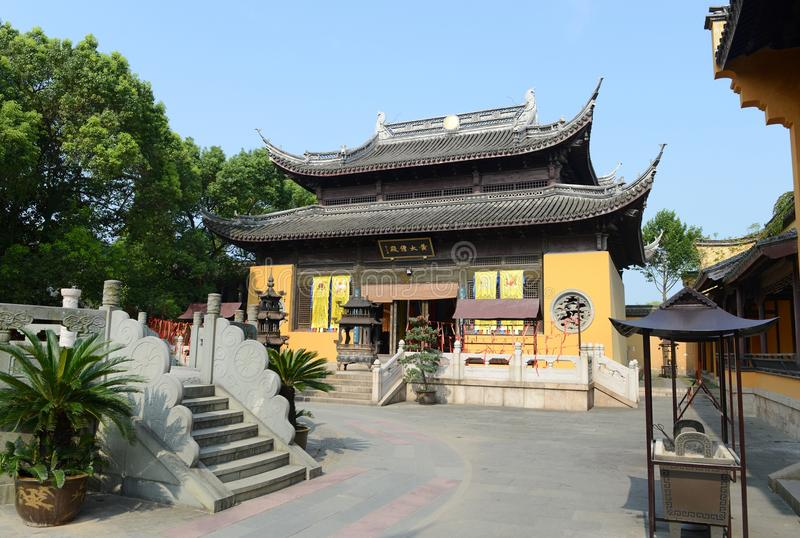 Tempio cinese di taoismo immagine stock
