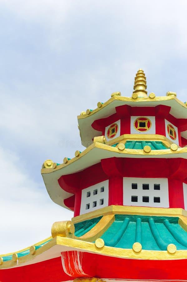 Tempio cinese in Koh Lanta fotografia stock libera da diritti
