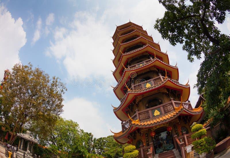 Tempio cinese in Tailandia immagine stock libera da diritti