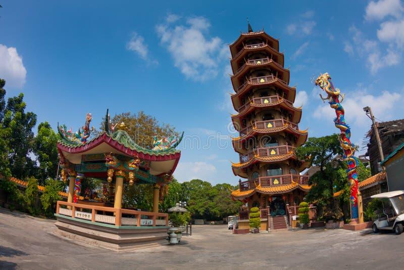 Tempio cinese in Tailandia fotografia stock libera da diritti