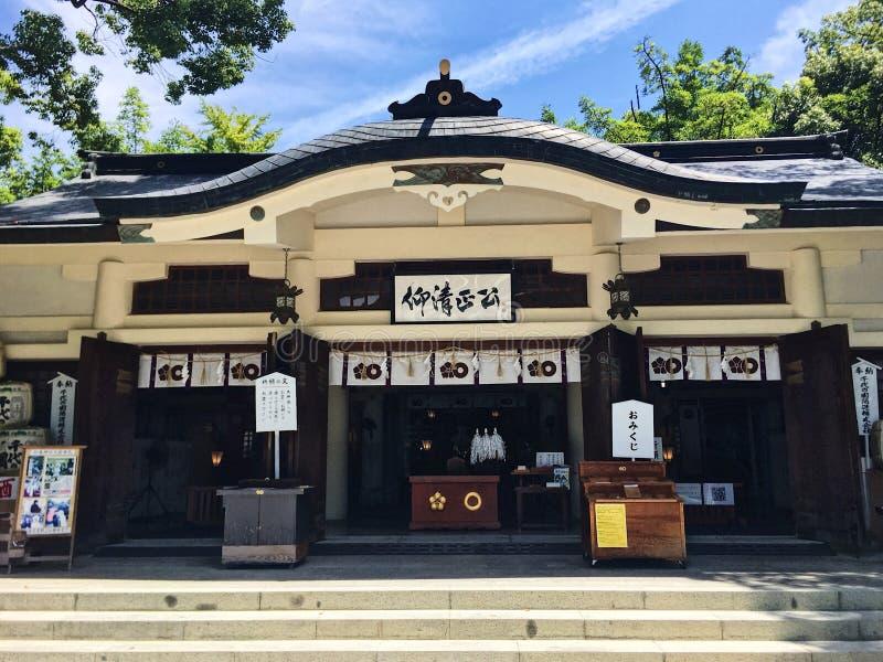 tempio del Giappone di kiyomasa di kato fotografie stock libere da diritti