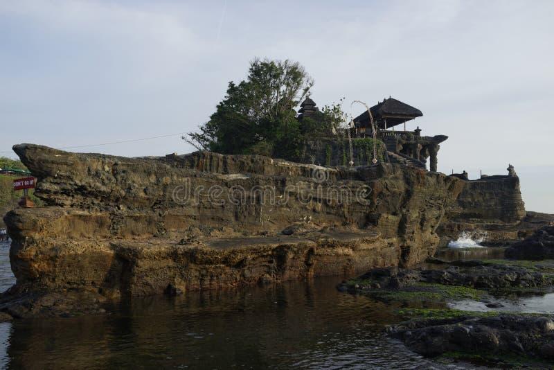 Tempio del lotto di Tanah, Bali, Bali fotografia stock libera da diritti