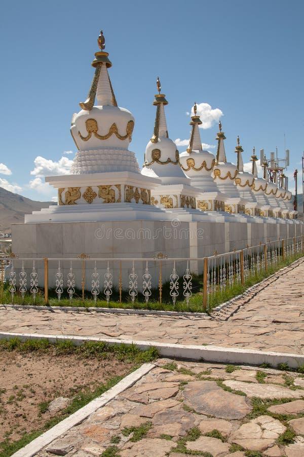 Tempio del monastero di Shankh in Mongolia immagini stock