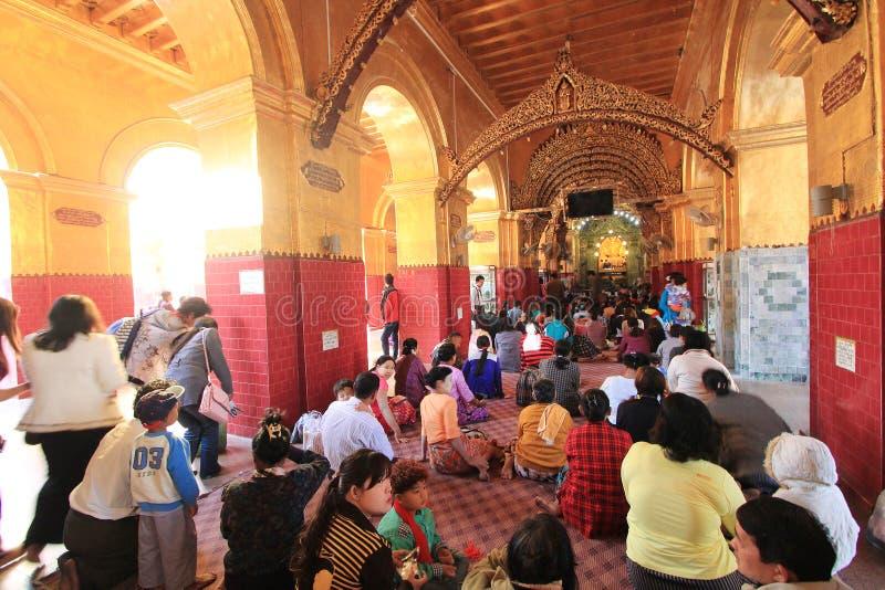 Download Tempio del Myanmar Bagan immagine editoriale. Immagine di pagan - 55355345
