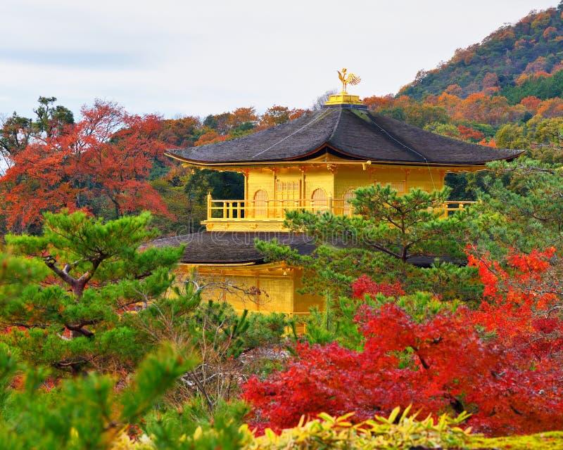 Tempio del padiglione dorato fotografia stock libera da diritti