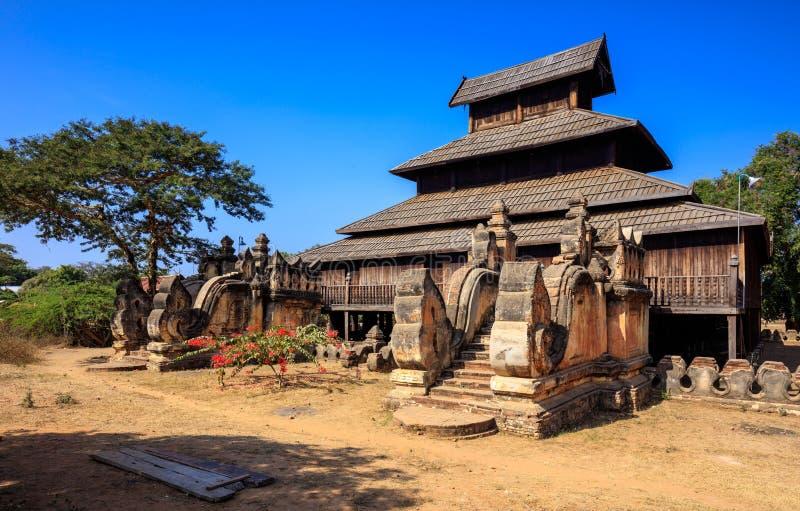 Tempio del thein del wah di Shwe, Bagan, Myanmar immagini stock