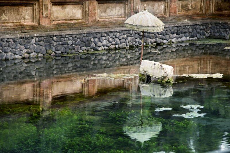 Tempio dell'acqua santa di Goa Gajah immagini stock libere da diritti