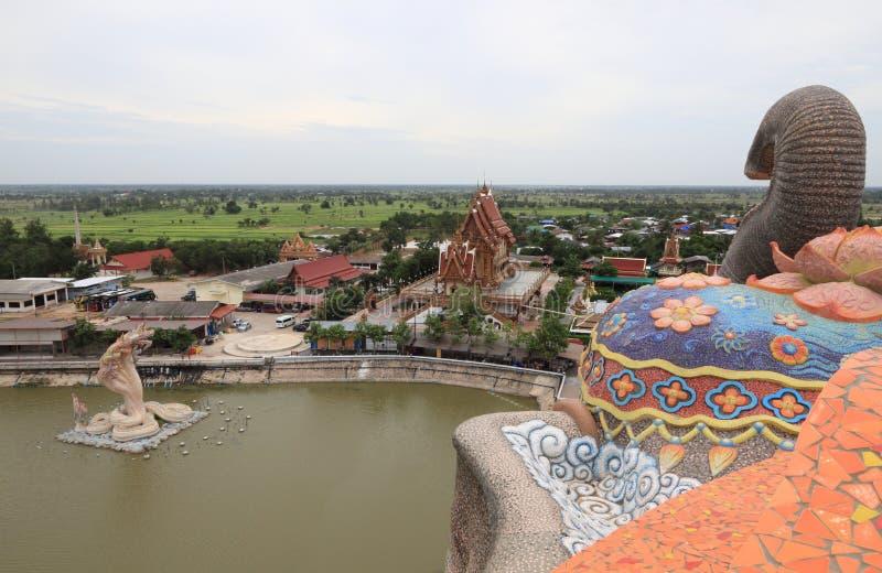 Tempio dell'elefante fotografia stock libera da diritti