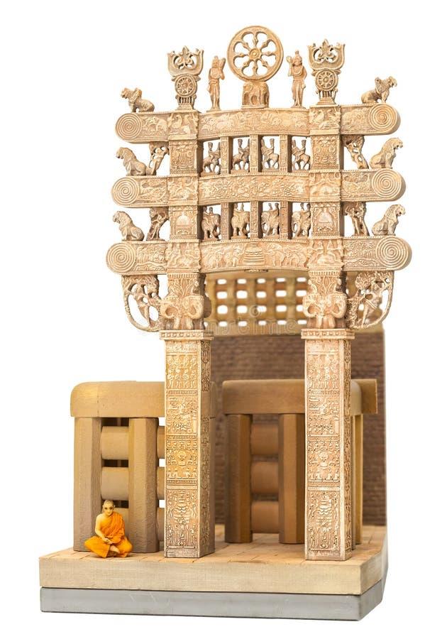 Download Tempio dell'India immagine stock. Immagine di costruzione - 56881303