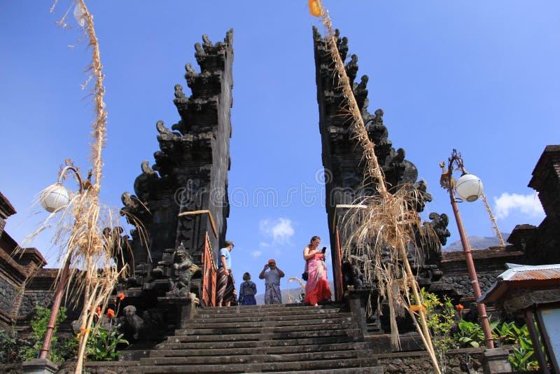 Tempio dell'isola di paradiso di Bali immagini stock