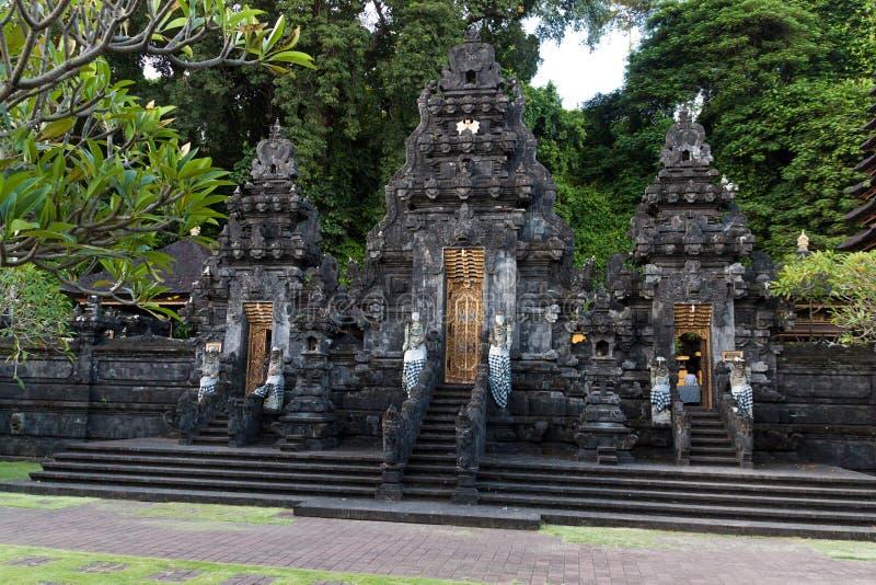 Tempio della caverna del pipistrello di Pura Goa Lawah fotografia stock