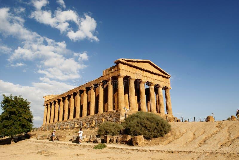 tempio della concordia стоковая фотография rf