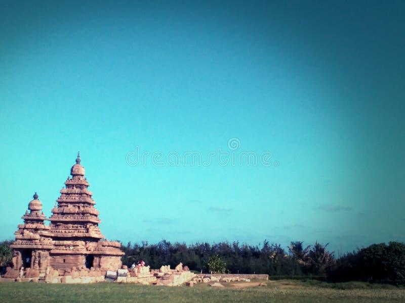 Tempio della riva immagini stock libere da diritti