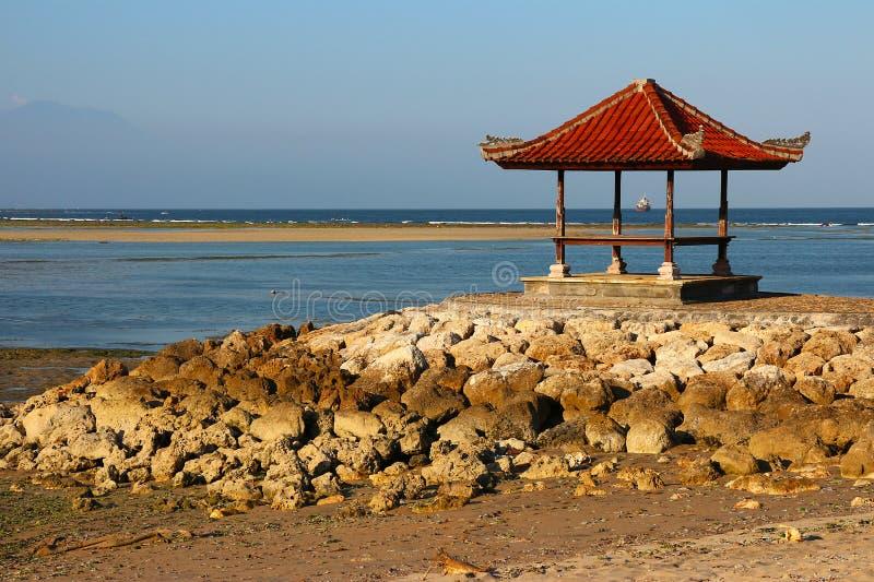 Tempio della spiaggia fotografia stock libera da diritti