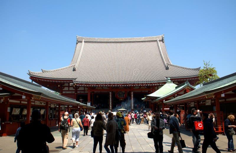 Tempio di Asakusa Senso, Tokyo, Giappone immagini stock