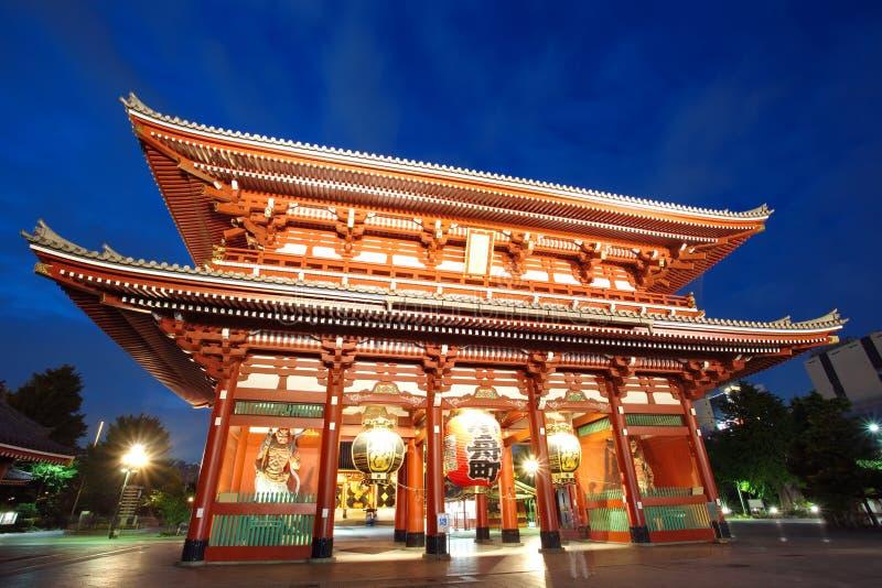 Tempio Di Asakusa A Tokyo Giappone Immagine Stock Libera da Diritti