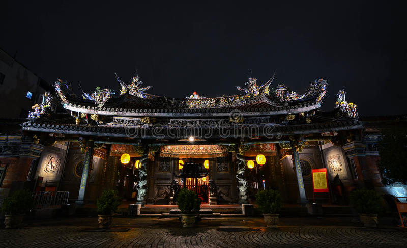 Tempio di Baoan, Taipei fotografia stock