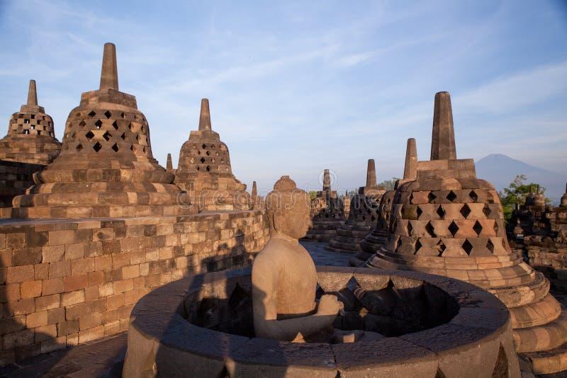 Tempio di Borobudur fotografia stock