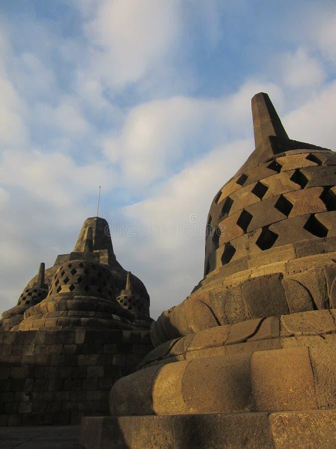 Tempio di Borobudur Buddist fotografia stock