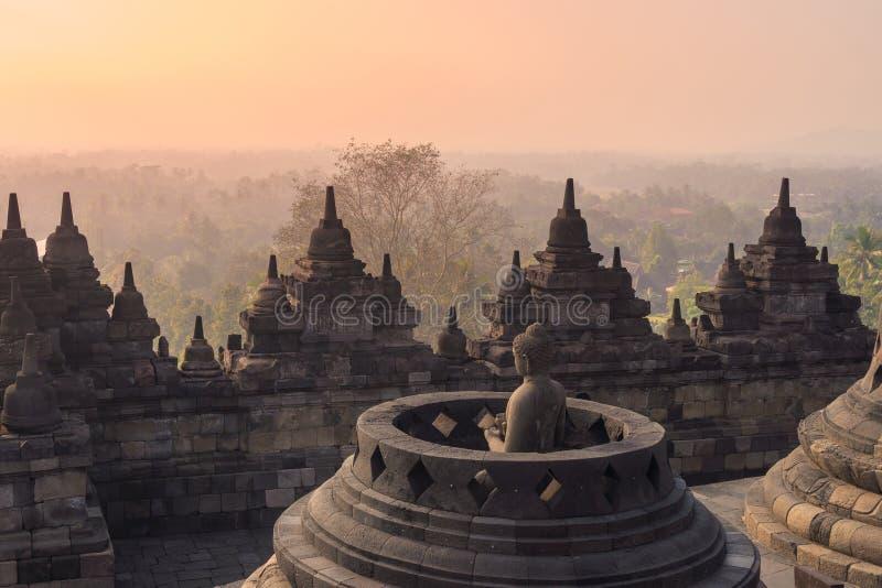 Tempio di Borobudur, Yogyakarta, Java immagini stock