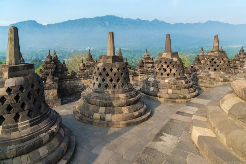 Tempio di Borobudur, Yogyakarta, Java immagine stock