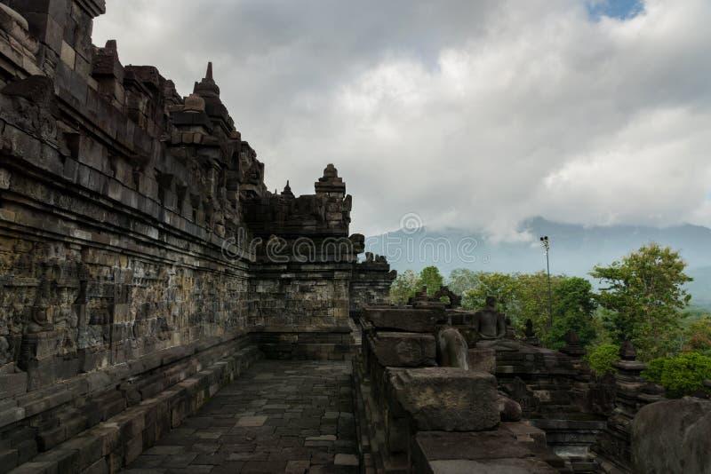 Tempio di Borobudur a Yogyakarta, Java, Indonesia immagini stock