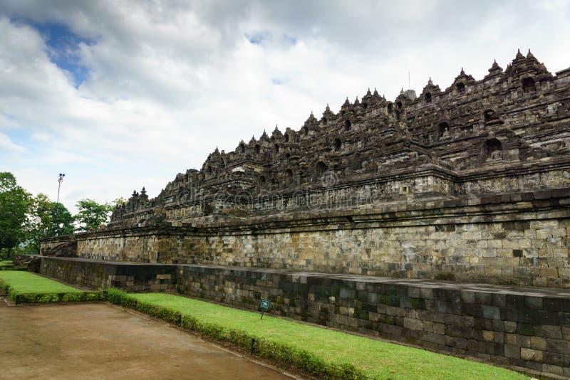 Tempio di Borobudur a Yogyakarta, Java, Indonesia fotografie stock libere da diritti