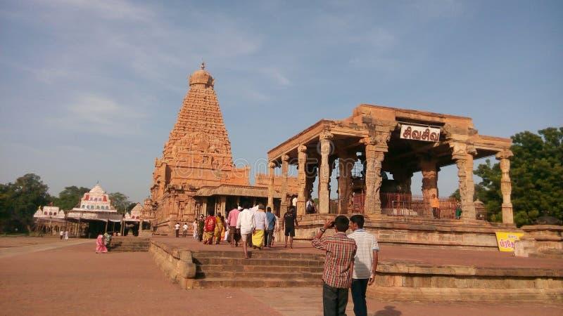 Tempio di Brihadeeswara immagini stock libere da diritti