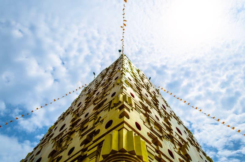 Download Tempio di Buddhakaya immagine stock. Immagine di buddhism - 55365453