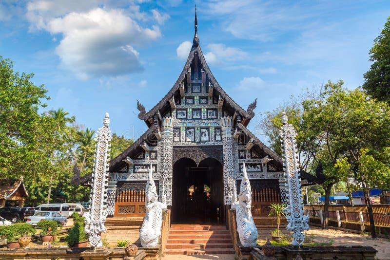 Tempio di buddisti in Chiang Mai fotografia stock libera da diritti