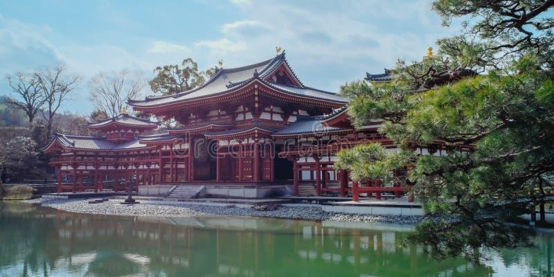 Tempio di Byodoin Byodo-in Uji, Kyoto, Giappone fotografia stock