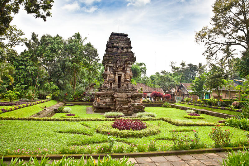 Tempio di Candi Kidal vicino da Malang, East Java, Indonesia. immagine stock libera da diritti