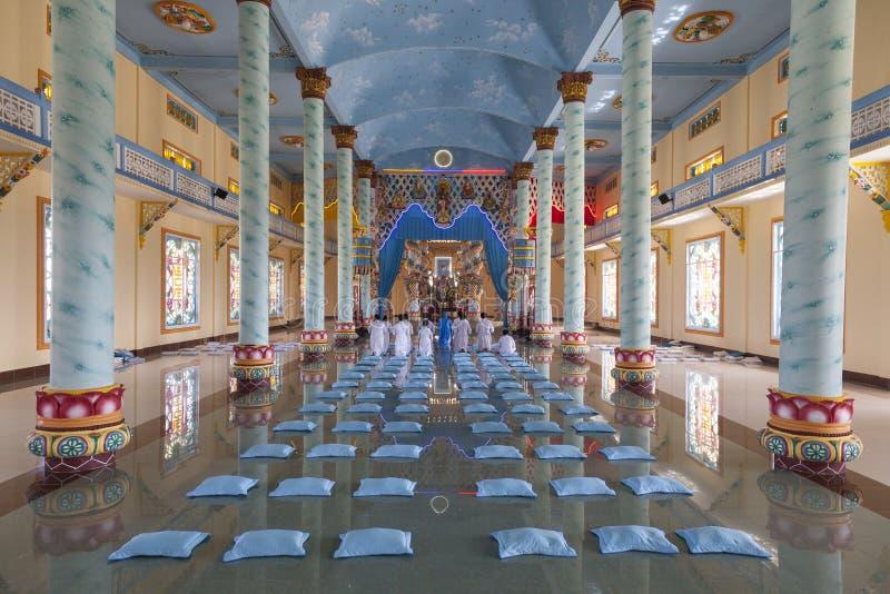 Tempio di Caodaist immagini stock