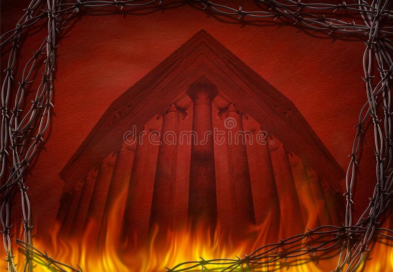 Tempio di carico immagini stock libere da diritti