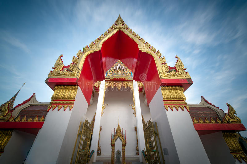 Tempio di Chalong a Phuket Tailandia fotografia stock