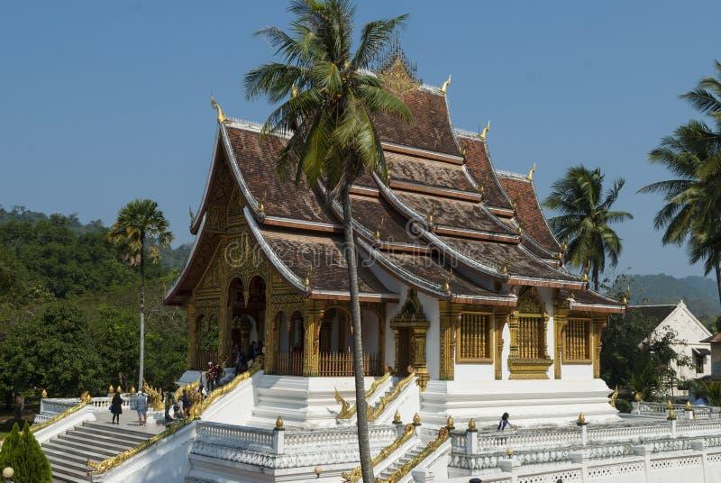 Tempio di colpo di Pha del biancospino, Luang Prabang fotografia stock