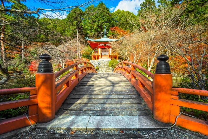 Tempio di Daigo-ji, Kyoto, Giappone immagine stock