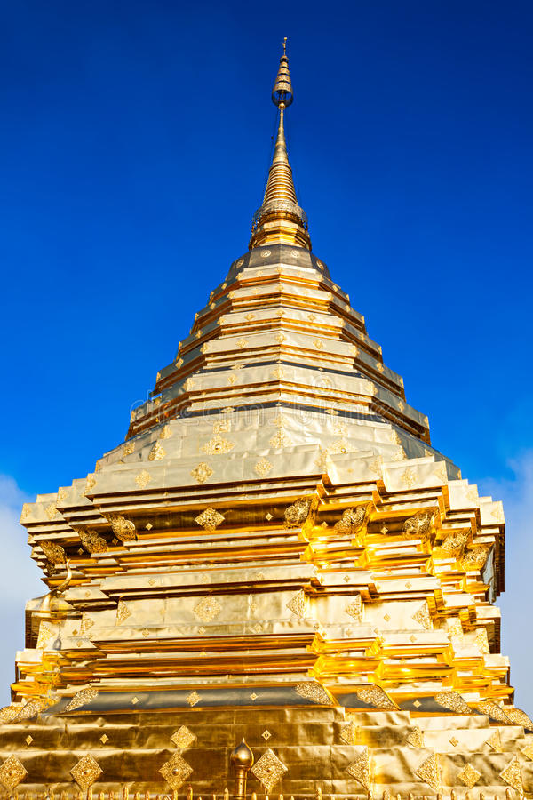 Tempio di Doi Suthep fotografia stock